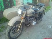 Продам мотоцикл Урал  с коляской ИМЗ 8-103-10 новый